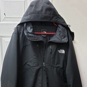 The North Face Mens Black Hood Lined Jacket XL